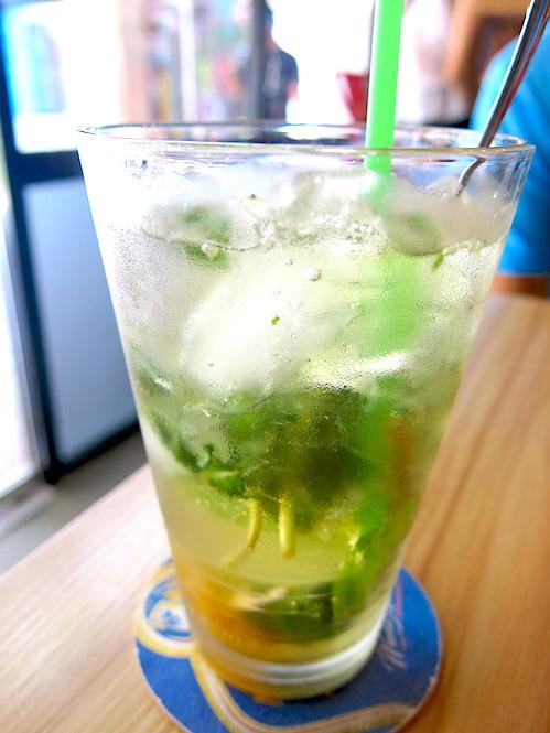 The Usual Place Singapore - Yuzu Mint Fruit Cooler