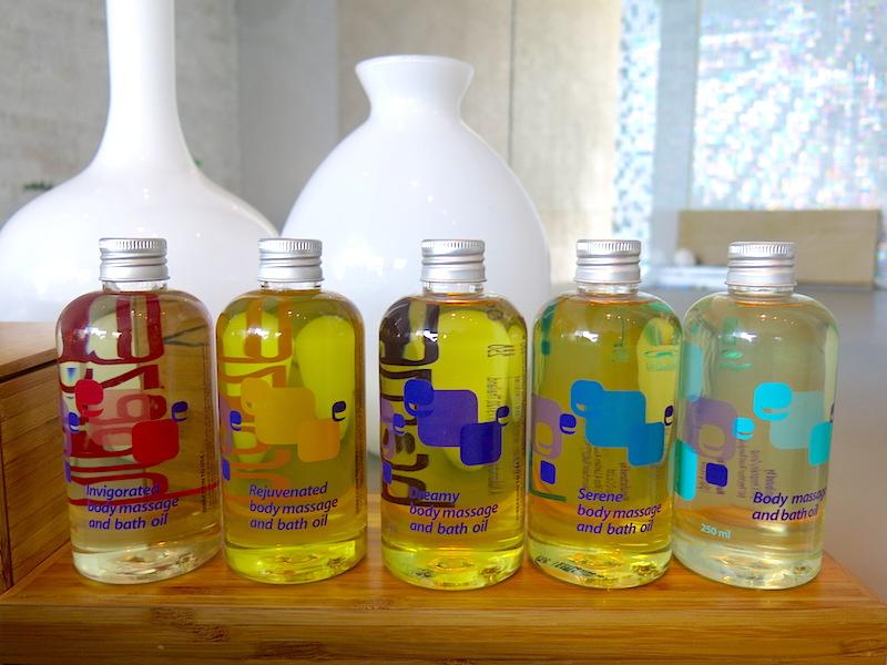 Various Massage Oils