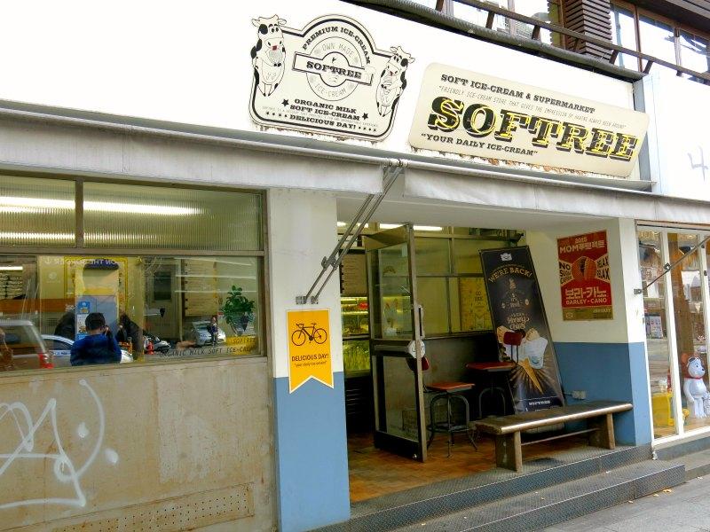 Softree Cafe at Itaewon
