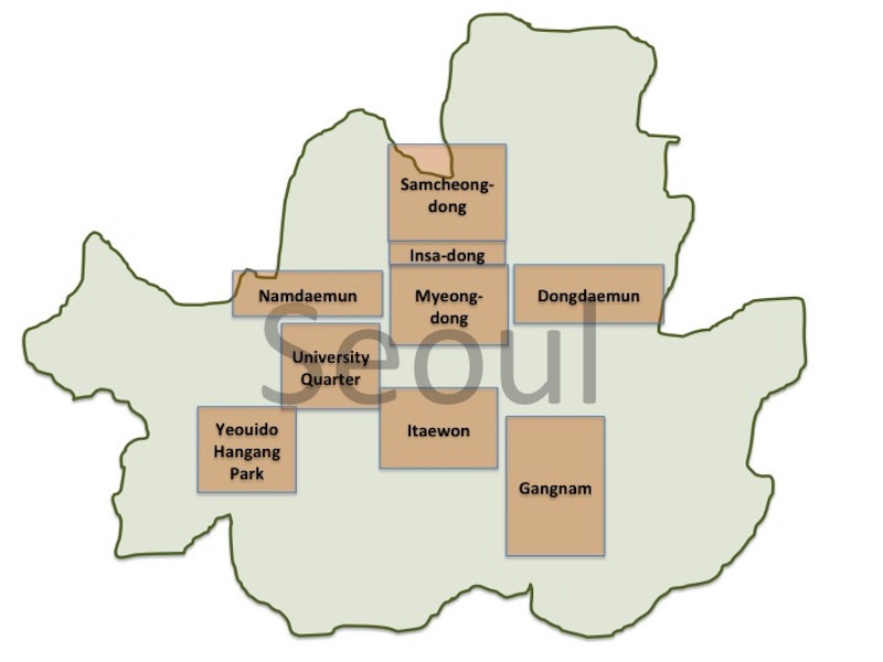 Rough Map of Seoul