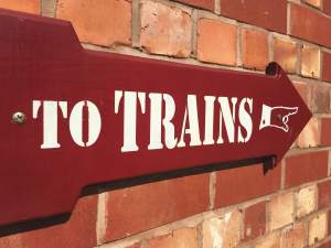 Signage - To Trains