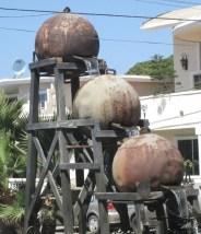 A La Estancia waterwheel