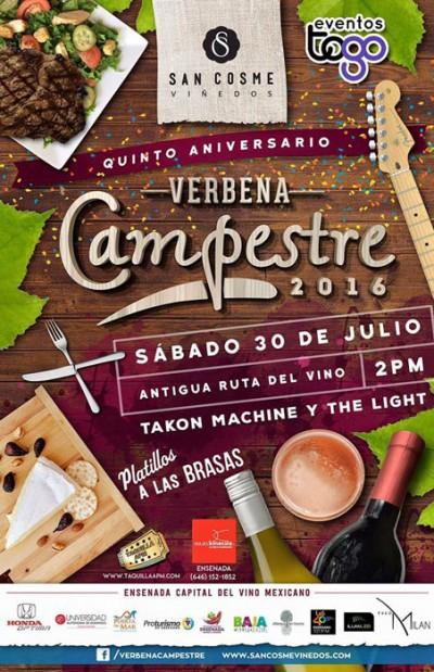 Verbena Campestre 2016