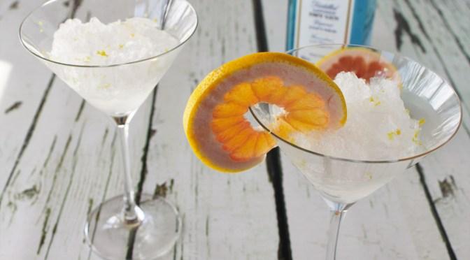 Drink: Grapefruit Gin & Tonic Slushie