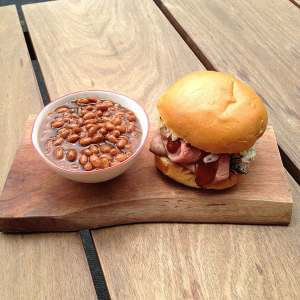 pulled-pork-hoagies-and-beans