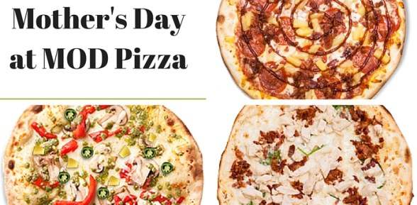 Free Pizza for Moms on Mother's Day at MOD