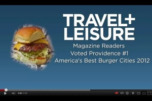 Providence Warwick Convention & Visitors Bureau Best Burgers in Providence video