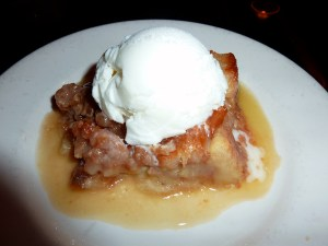 lemon walnut bread pudding