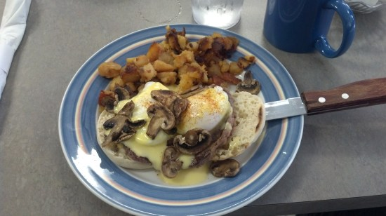 Sea Glass Cafe - Working Man's Benedict