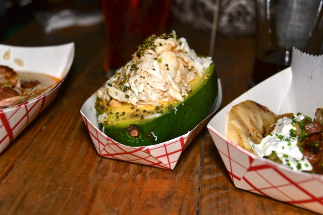 Orlando Food Truck Big Wheel Lump Crab Avocado