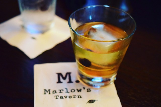 Marlow's Tavern #RibsAndWhiskey New Fashioned
