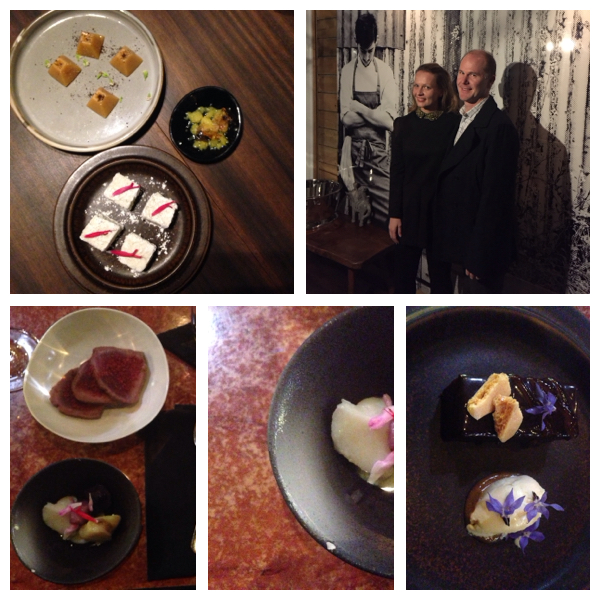 Mr eatmystreet & I at O.my restaurant.