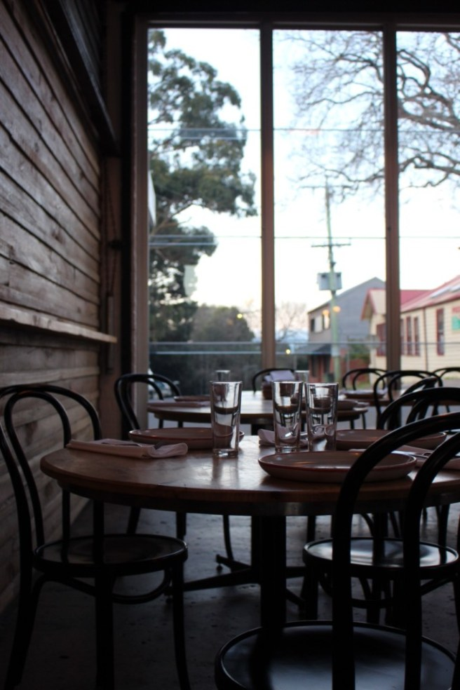 view onto street The Independent Gembrook
