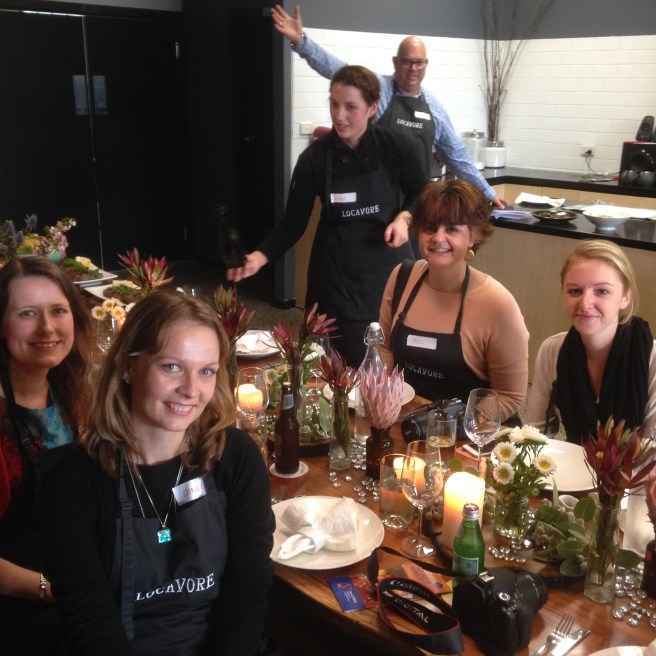food bloggers at Locavore Studio Lilydale