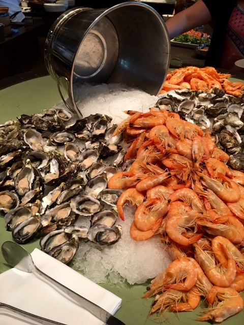 Seafood at Collins Kitchen Grand Hyatt Buffet
