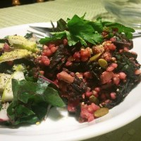 Beetroot and Buckwheat Risotto with Amy