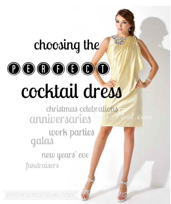 How to choose the perfect cocktail dress
