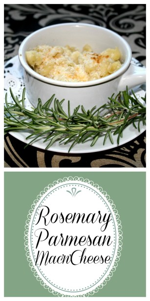 rosemary parmesan mac'n'cheese