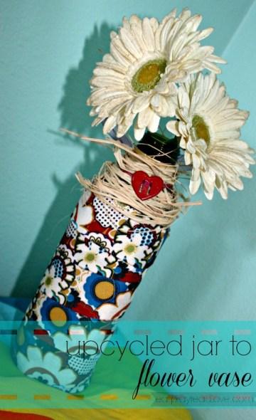 DIY vase after
