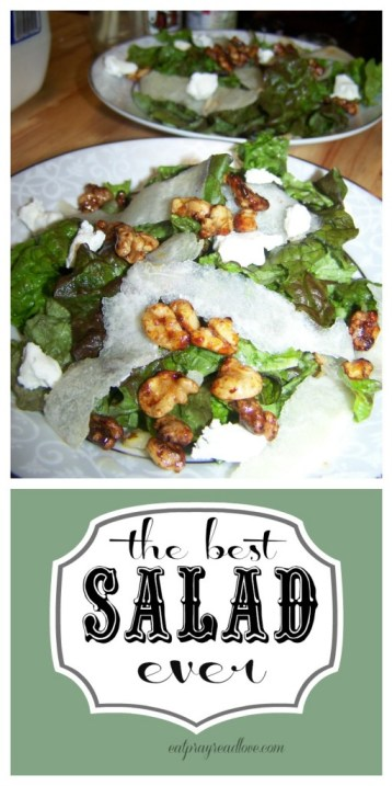 You won't mind eating salad if it tastes this good! The best salad recipe ever!