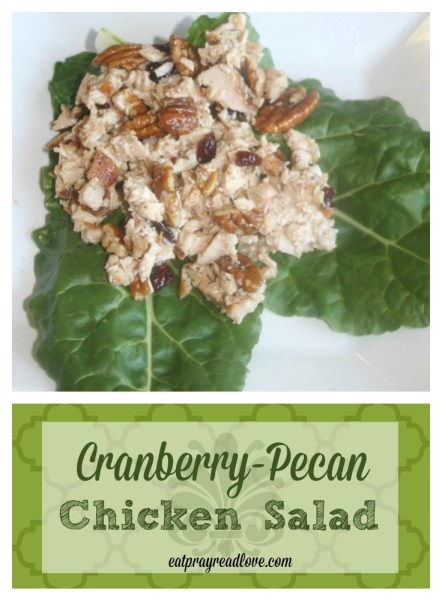 Cranberry Pecan Chicken Salad is a perfect addition to your baby shower, summer party, or just for an easy dinner!