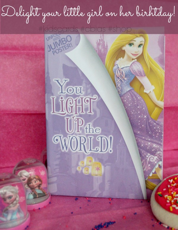Delight your little girl on her birthday! #Kidscards #shop