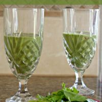 Banana Mango Green Smoothie Recipe