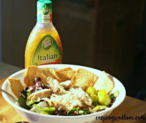 Zany Italian nacho salad 2