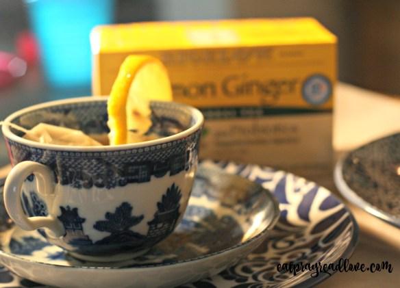 bigelow lemon ginger tea
