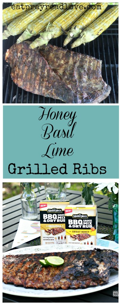 Honey Basil Lime Grilled Ribs