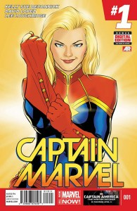 Captain Marvel 1 Cover 600x900