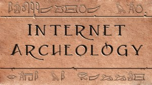 InternetArcheology