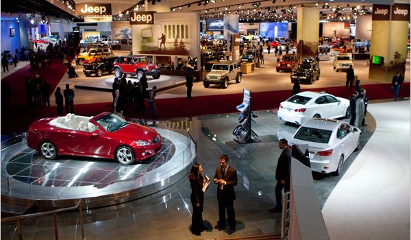 Detroit Motor Show Sneak Preview Of Latest Cars