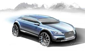Audi Unveils New Crossover Concept Sketches