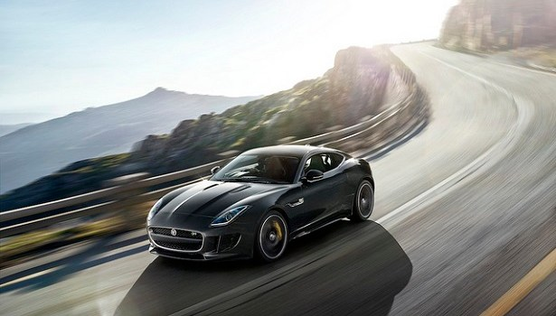 The Jaguar F-Type Coupe