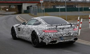 Mercedes AMG GT Spotted on Track for Testing