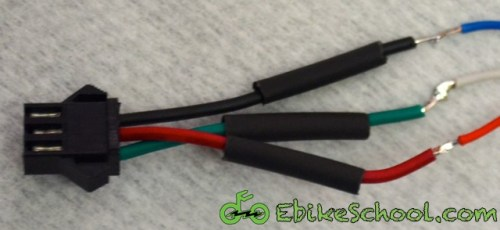 heat shrink connector