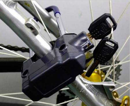 bicycle wheel lock