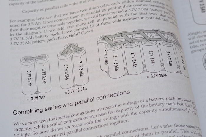 DIY lithium battery book