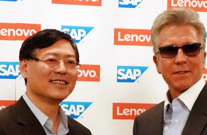 Lenovo y SAP planifican llevar soluciones avanzadas a la nueva economía digital