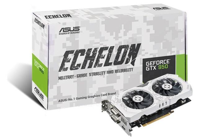 ASUS lanzó la tarjeta gráfica Echelon GTX 950