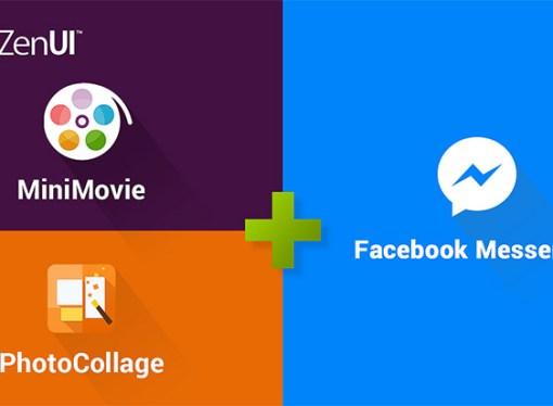 Aplicaciones ASUS se integran con Facebook Messenger