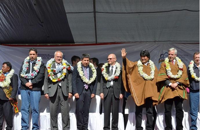 Acuerdo entre Rusia y Bolivia para construir centro nuclear