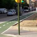 Ciclista en Semáforo