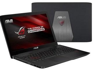 ASUS lanzó la nueva ROG GL552