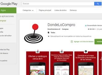 DondeLoCompro rompe récord en Google Play y App Store