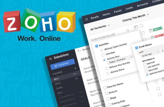 Zoho, primer cliente de correo electrónico diseñado para equipos de ventas