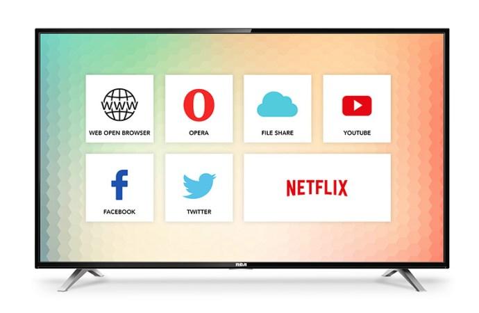 RCA lanzó nuevos smart TVs