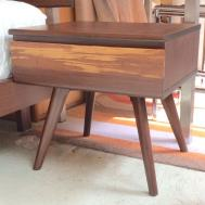 Azara nightstand in sable bamboo. $499
