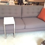 "Hunter 80"" sofa made in U.S.A.  Custom about $1600. Floor model $1300"